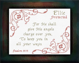 Name Blessings - Ellie | Crafting | Cross-Stitch | Religious