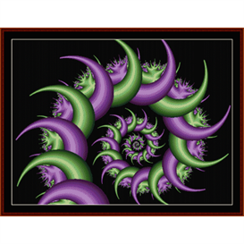 Fractal 331 cross stitch pattern by Cross Stitch Collectibles | Crafting | Cross-Stitch | Wall Hangings
