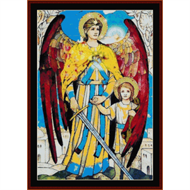 raphael - religious cross stitch pattern by cross stitch collectibles