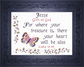 Name Blessings - Jesse | Crafting | Cross-Stitch | Religious