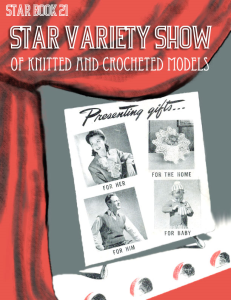 Star Variety Show - Adobe .pdf Format | eBooks | Arts and Crafts