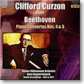 BEETHOVEN Piano Concertos 4 and 5, Curzon, Knappertsbusch, Stereo MP3 | Music | Classical
