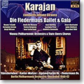 STRAUSS Die Fledermaus Ballet and Gala etc, Karajan 1960, Stereo MP3 | Music | Classical