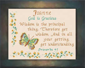 Name Blessings - Joanne | Crafting | Cross-Stitch | Other