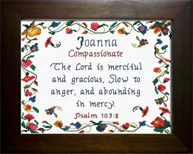 Name Blessing - Joanna | Crafting | Cross-Stitch | Other