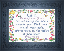 Name Blessings - Laila | Crafting | Cross-Stitch | Other