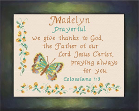 Name Blessings - Madelyn | Crafting | Cross-Stitch | Other