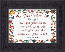 Name Blessings - Mariellen | Crafting | Cross-Stitch | Other