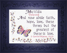 Name Blessings - Matilda | Crafting | Cross-Stitch | Other