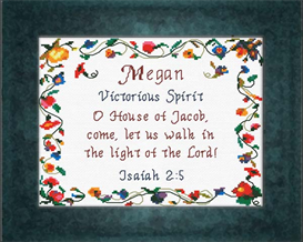 name blessings - megan