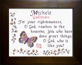 Name Blessing - Michele | Crafting | Cross-Stitch | Other