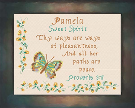 Name Blessings - Pamela | Crafting | Cross-Stitch | Other