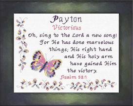 Name Blessings - Payton | Crafting | Cross-Stitch | Other