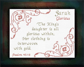 Name Blessings - Sarah | Crafting | Cross-Stitch | Other