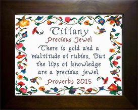 Name Blessings - Tiffany | Crafting | Cross-Stitch | Other