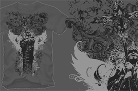 Divinity Vector Apparel Design | Photos and Images | Digital Art