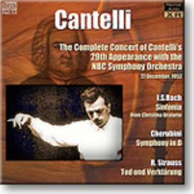 CANTELLI NBC Concert 29, 1952, 24-bit Ambient Stereo FLAC | Music | Classical