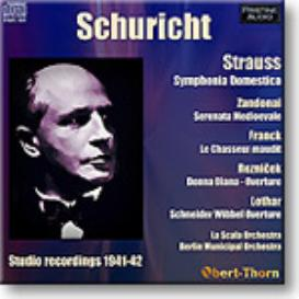SCHURICHT conducts, 1941-42, Mono MP3 | Music | Classical