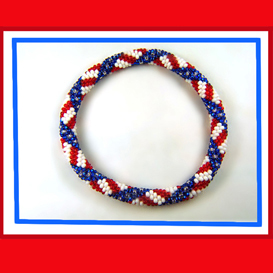 Stars and Stripes Bracelet | eBooks | Arts and Crafts