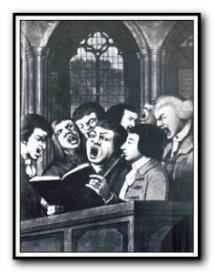 Billings : Hark! Hark! Hear you not a cheerful noise : Full score   Music   Classical