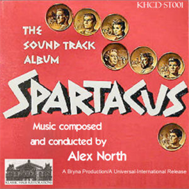 Spartacus Soundtrack - Alex North (1960) | Music | Classical