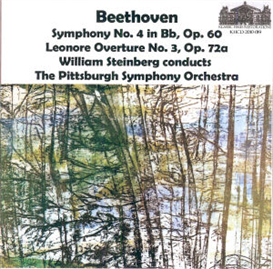 Beethoven 4th Symphony/Leonore No. 3 - Steinberg/PSO | Music | Classical