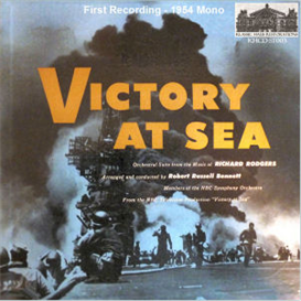 rodgers: victory at sea - symphonic suite - first recording (1954)