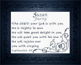 Name Blessings - Susan | Crafting | Cross-Stitch | Other