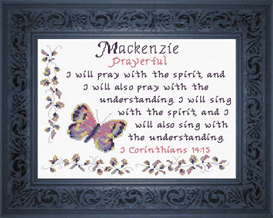 Name Blessings - Mackenzie | Crafting | Cross-Stitch | Religious