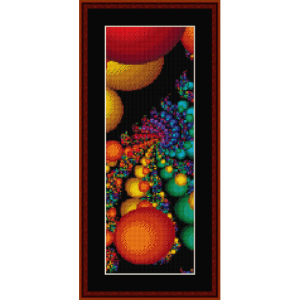 Fractal 335 Bookmark cross stitch pattern by Cross Stitch Collectibles | Crafting | Cross-Stitch | Other
