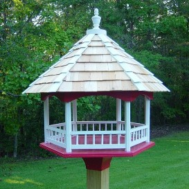 Platform Gazebo Bird Feeder | Other Files | Arts and Crafts