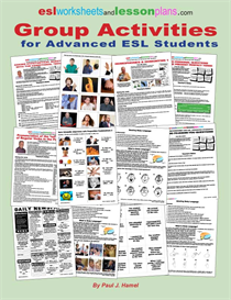 Group Activities E- Book For Advanced ESL Students | eBooks | Education