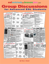 ESL Group Discussion e- Book For Advanced ESL Students | eBooks | Education