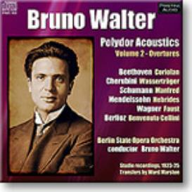 WALTER Polydor Acoustics Vol 2 - Overtures, Mono FLAC | Music | Classical
