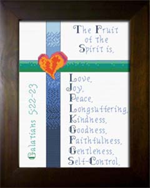 Fruit | Crafting | Cross-Stitch | Religious