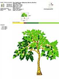 Tree - Embroidery Design | Crafting | Sewing | Other