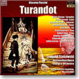 PUCCINI Turandot, Nilsson, Corelli, Stokowski, 1961, 16-bit mono FLAC | Music | Classical
