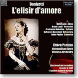 DONIZETTI L'elisir d'amore, Sayao, Baccaloni, Panizza, 1942, Stereo MP3 | Music | Classical