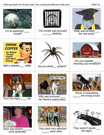 ESL Group Activity: Idiomatic Adjectives with Preposition Combinations 2 | eBooks | Education