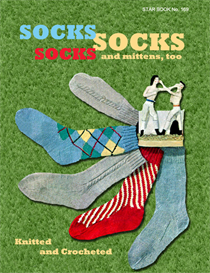 Socks Socks Socks and Mittens, Too - Adobe .pdf Format