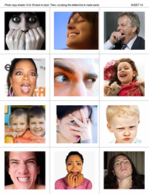 ESL Group Activity: Reading Body Language 1 - Facial Gestures | eBooks | Education