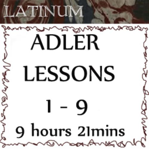 First Additional product image for - Adler - Latin Practical Grammar - Lessons 1 - 9. Duration 9hrs 21mins