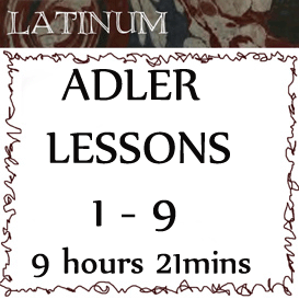 Adler - Latin Practical Grammar - Lessons 1 - 9. Duration 9hrs 21mins