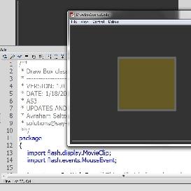 draw box source code