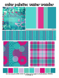 winter wonder color palette by traci bautista