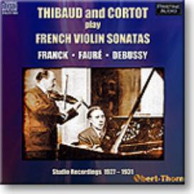 THIBAUT and CORTOT French Violin Sonatas, mono MP3 | Music | Classical