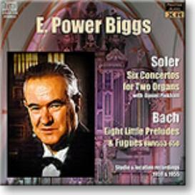 E. POWER BIGGS Soler and Bach, Stereo and Ambient Stereo MP3 | Music | Classical