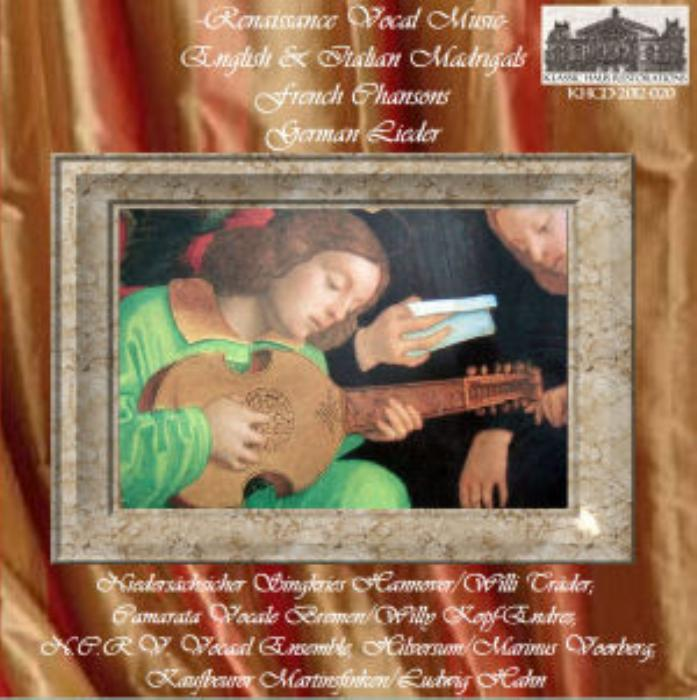 First Additional product image for - Renaissance Vocal Music - English and Italian Madrigals, French Chansons, and German Lieder