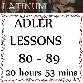 adler - latin practical grammar - lessons 80 - 89. length 20hrs 53 mins