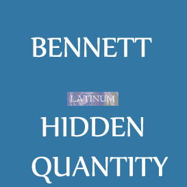 bennet -  list of words with hidden quantity